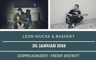 20. Januar | Leon Mucke & Bashert