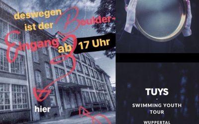 Geänderte Öffnungszeiten | 13. april | TUYS (LIVE)
