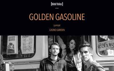 28. Februar | bahnhof.blo präsentiert • [golden gasoline & casino garden] | Café bis 20 Uhr geschlossen