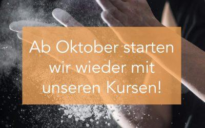 Kursbetrieb | wir starten wieder | ab oktober