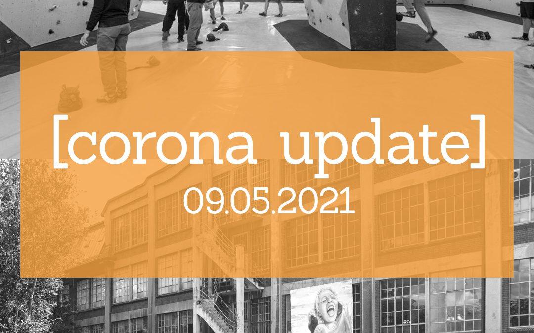 Corona Update   09.05.2021