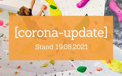 Corona-Update | Stand 19.08.2021